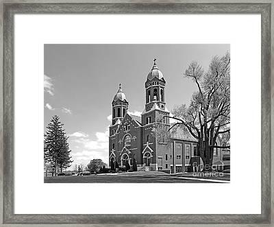 St. Joseph's College Chapel Framed Print by University Icons