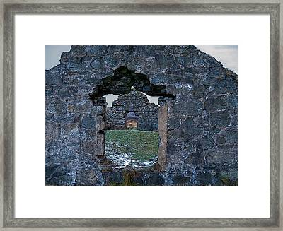St. Kevin's Way Framed Print by Kathleen Scanlan