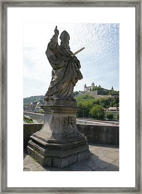 St. Kilian Framed Print