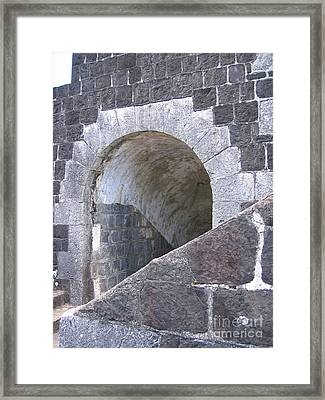 Framed Print featuring the photograph St. Kitts  - Brimstone Hill Fortress by HEVi FineArt