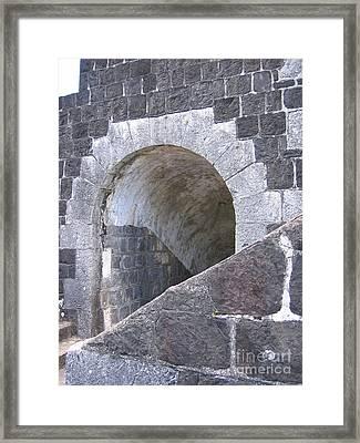 St. Kitts  - Brimstone Hill Fortress Framed Print