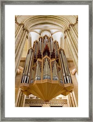 St Lambertus Organ Framed Print