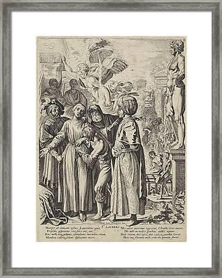 St. Lawrence, Pieter Claesz Framed Print by Pieter Claesz. Soutman