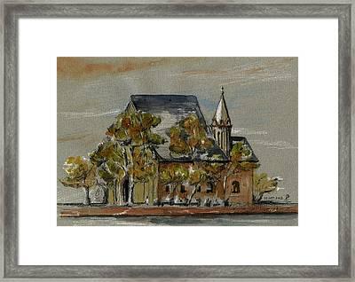 St Leonhardskirche Framed Print by Juan  Bosco
