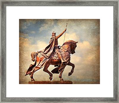 Framed Print featuring the photograph St. Louis 4 by Marty Koch
