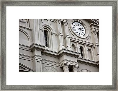 St. Louis Cathedral 11 Framed Print by Chris Moore