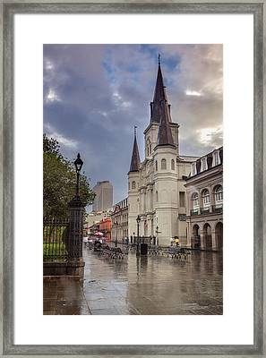 St. Louis Cathedral 14 Framed Print by Chris Moore