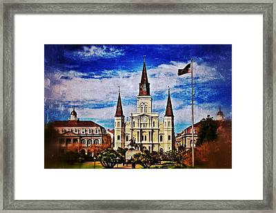 St. Louis Cathedral 2 Framed Print