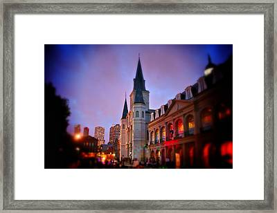 St. Louis Cathedral 3 Framed Print