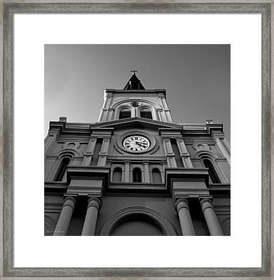 St. Louis Cathedral Perspective Framed Print
