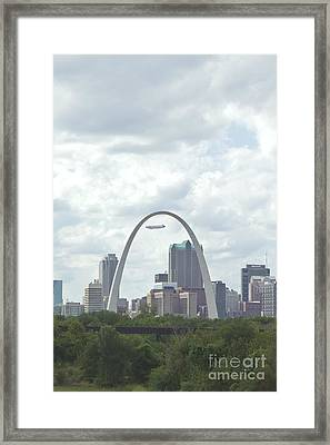 St. Louis Cityscape Framed Print by Kay Pickens