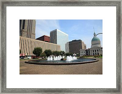 St. Louis Framed Print by Frank Romeo