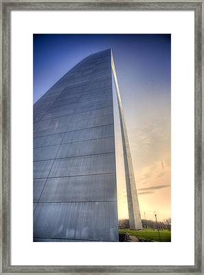 St. Louis-gateway Arch Framed Print