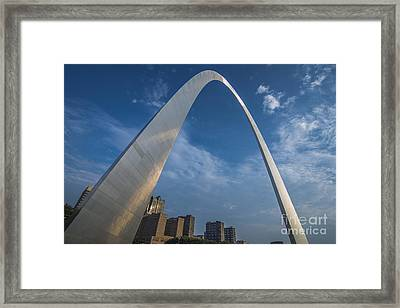 St. Louis Gateway Arch Sunrise Framed Print