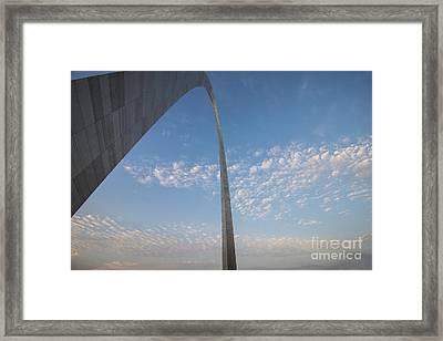 St. Louis Missouri Gateway Arch 8935 Framed Print