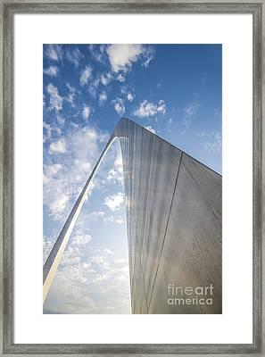 St. Louis Missouri Gateway Arch 8970 Framed Print