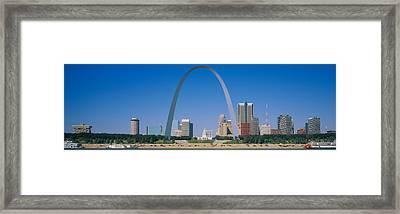 St Louis, Missouri, Usa Framed Print