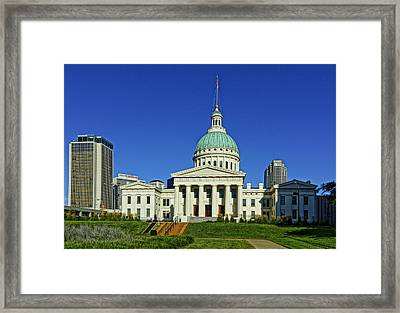 St Louis Old Courthouse Framed Print by Greg Kluempers