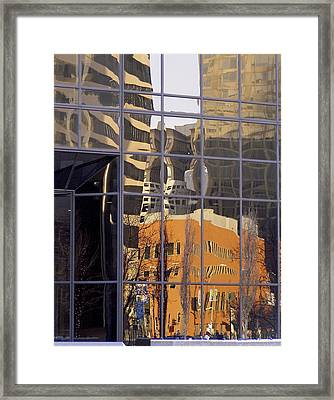 St. Louis Reflection Framed Print by Jane Eleanor Nicholas