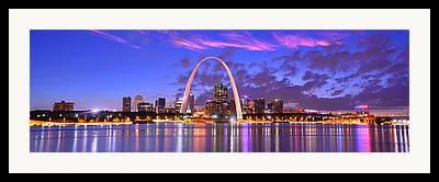 Saint Louis Framed Prints