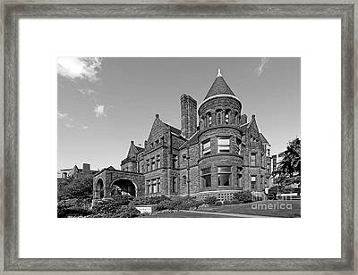 St. Louis University Samuel Cupples House Framed Print by University Icons