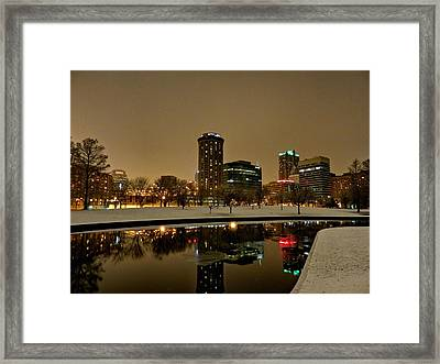 St. Louis - Winter At The Arch 007 Framed Print by Lance Vaughn