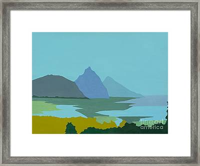St. Lucia - W. Indies II Framed Print by Elisabeta Hermann
