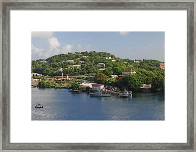 St Lucia Framed Print by Willie Harper