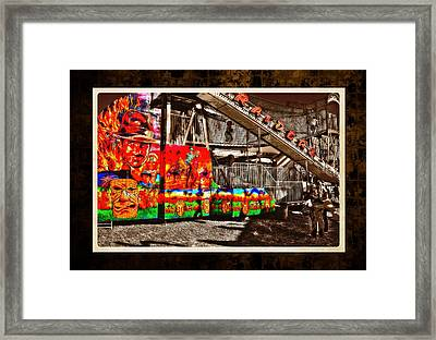 St Lucie County Fair Framed Print by Richard Hemingway