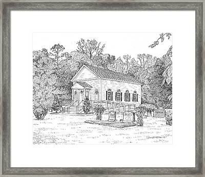 St. Luke's Church  Framed Print