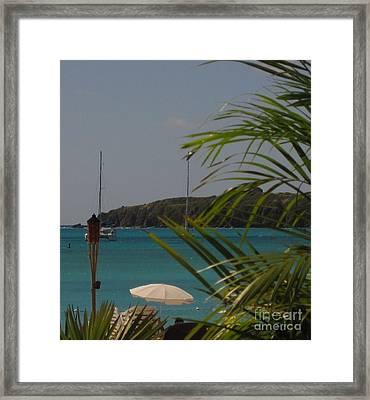 St Maarten II Framed Print