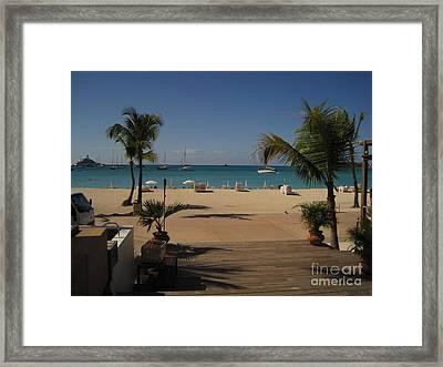 St Maarten IIi Framed Print