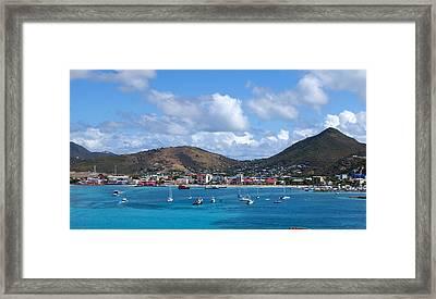 St. Maarten Framed Print