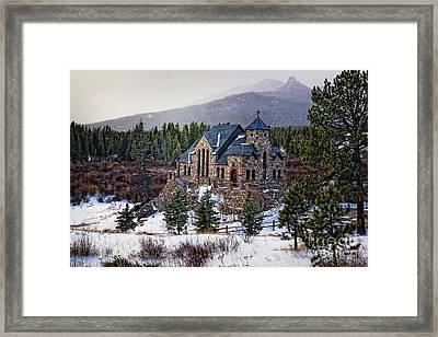 St. Malo Chapel Framed Print