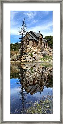 St. Malo Church Framed Print