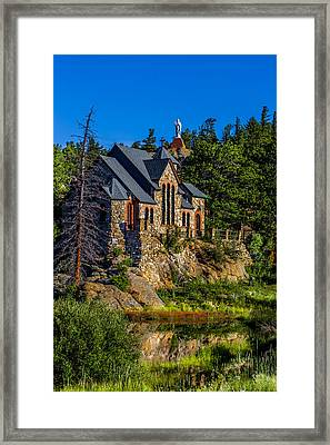 St Malos Church Framed Print by Rebecca Adams