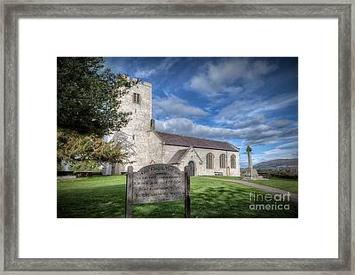 St Marcella's Church Framed Print by Adrian Evans