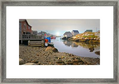 St. Margarets Bay Framed Print by Diana Angstadt