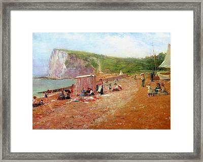 St Margaret's Bay Framed Print by MotionAge Designs