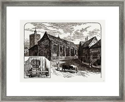 St. Margarets, Uxbridge, Uk Framed Print by Litz Collection