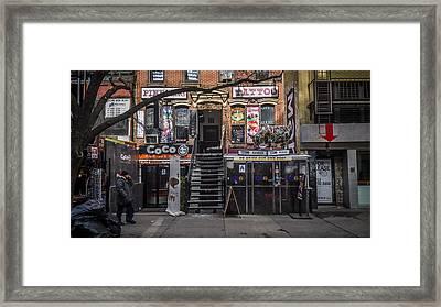 St. Marks Framed Print