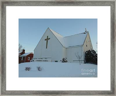 St. Marks Lutheran Church Framed Print