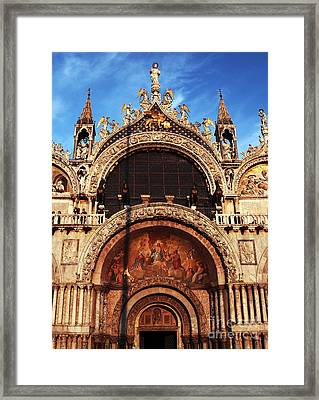 St. Marks Square Framed Print by John Rizzuto