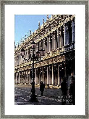 St. Mark's Square Venice Italy Framed Print