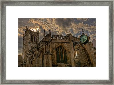 St Martin Coney Street In York Framed Print