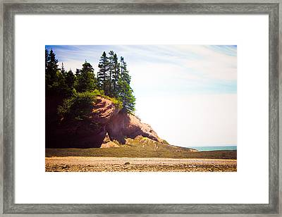 St. Martin's Sea Caves Framed Print by Sara Frank