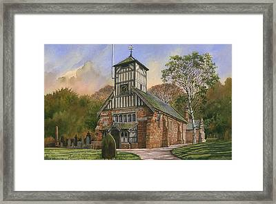 St. Mary And All Saints Framed Print by Anthony Forster
