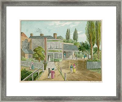 St Framed Print by Mary Evans Picture Library