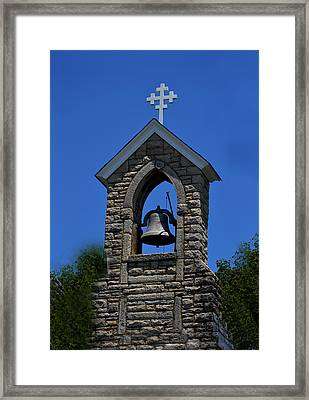 St Mary Magdalene Church Fayetteville Tennessee Framed Print by Lesa Fine