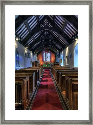 St Mary Magdalene Framed Print by Ian Mitchell
